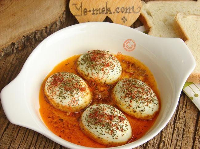 Tereyağlı Yumurta Kapama Tarifi (Resimli Anlatım) | Yemek Tarifleri