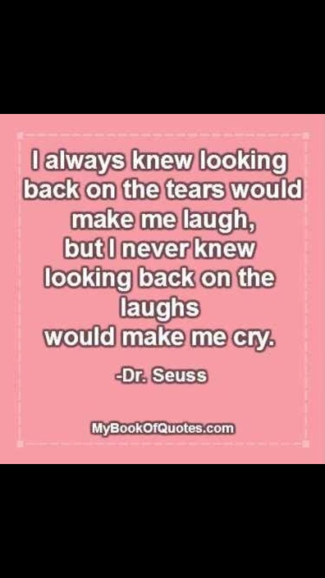 This makes me tear up Dr. Suess quote
