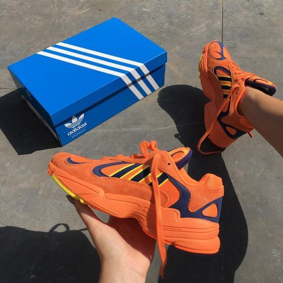 55d1a7a3b2946 Adidas, Yung 1 Trainers, Hi Res Orange Shock Yellow | Shoes | Orange ...