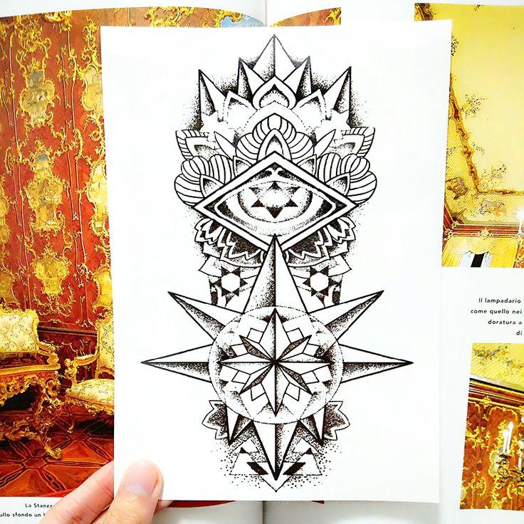 Майя тотем временные татуировки флэш-тату наклейки 21 * 15 см водонепроницаемый тату стайлинга автомобилей домашнего декора стикера стены