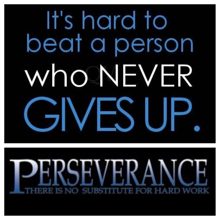 Persistence Motivational Quotes: 1000+ Images About Quotes About Grit On Pinterest