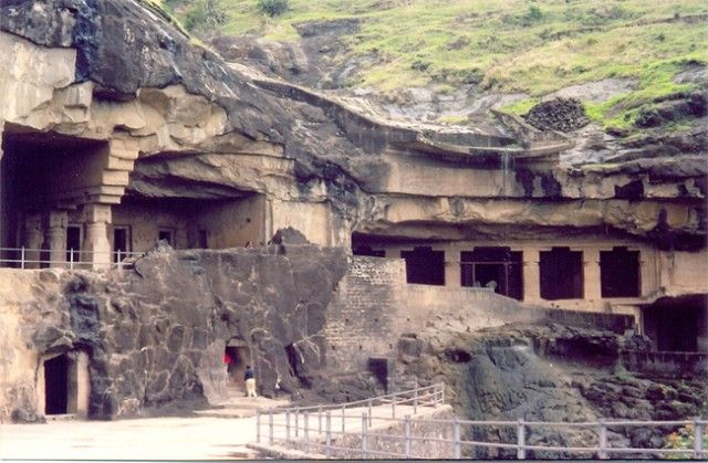 Pic 1 - Ellora, the finest example of Indian rock-cut architecture
