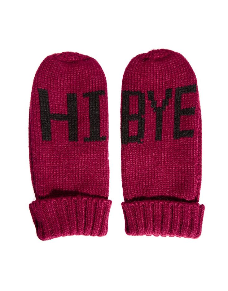 Add a fun touch to you hands with these @ASOS 'Hi Bye' mittens $17, get it here: http://rstyle.me/~9qDi