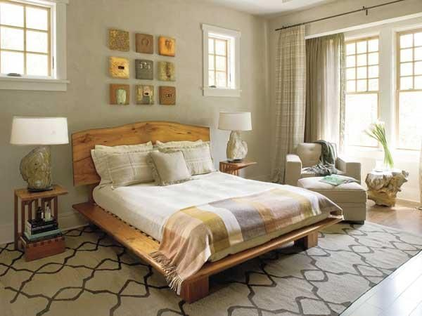 Decorate the master bedroom 2
