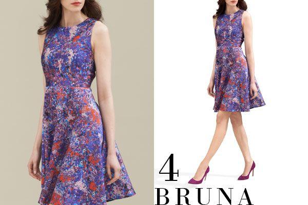 Bruna Printed Dress