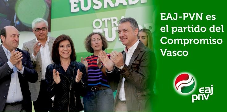 """Izaskun Bilbao: """"EAJ-PNV es el partido del Compromiso Vasco""""."""