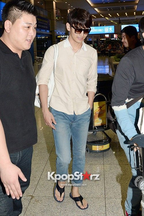 Changmin - TVXQ Finishes Chile Concert for World Tour and Returns to Korea- July 12, 2013 [PHOTOS]