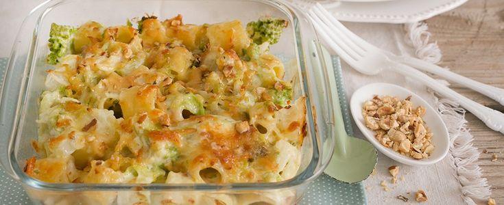 Pasta al forno con verdure invernali