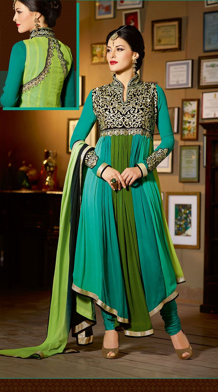 48 best Wedding Anarkali Suits images on Pinterest | Anarkali ...