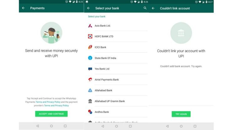 WhatsApp Payments UPI-Based Feature Arrives in India on Android Phones iPhone   Photo Credit: GizmoTimes  WhatsApp Payments based on UPI is available to some users in the Attachments menu  WhatsApp has reportedly started testing out its UPI-based payments feature in India. The new feature available for select WhatsApp beta users on iOS and Android enables users to send and receive money using the Indian governments Unified Payments Interface (UPI) standard. This feature is said to be…