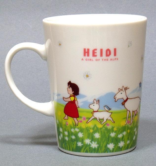 HEIDI, Girl of the Alps 1970s Japanese Anime Mug Cup Ghibli Miyazaki