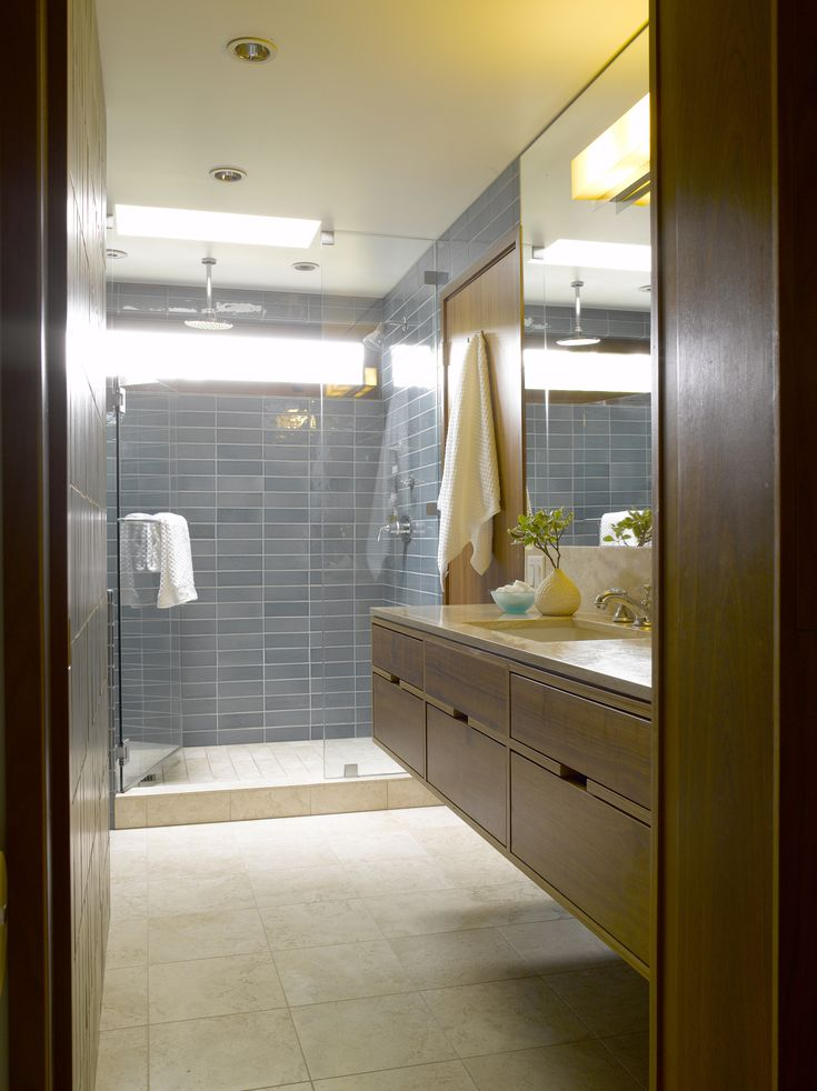 Picture Gallery For Website  best Mid Century Bath Remodels images on Pinterest Bathroom ideas Master bathrooms and Room