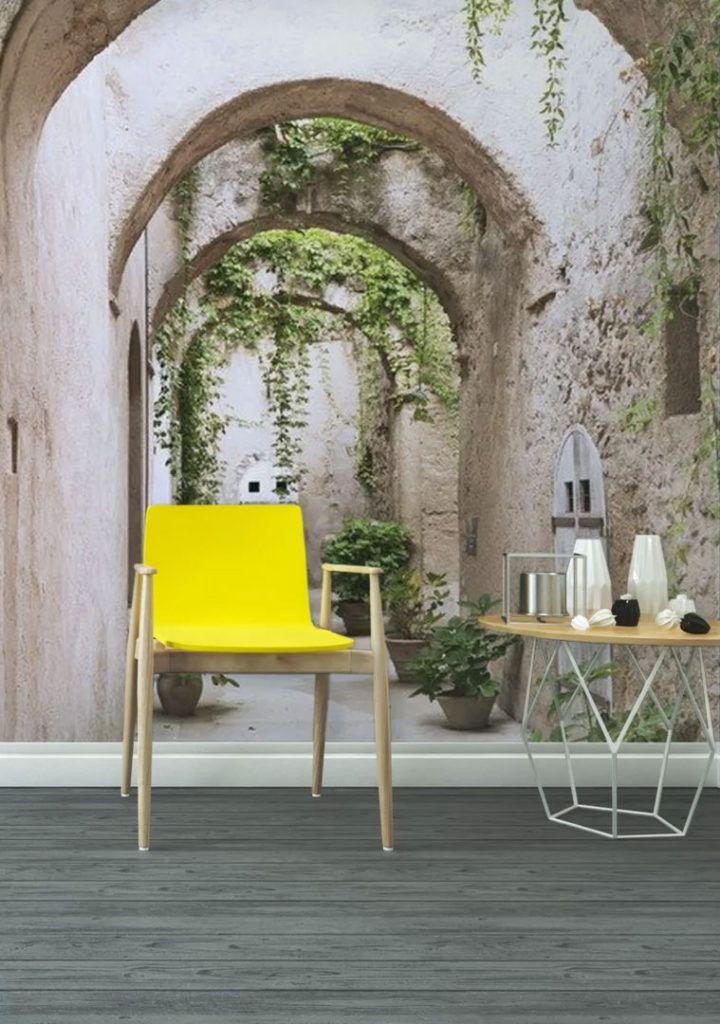 Effektvolle Wand Und Raumgestaltung Mit Fototapete In 2019