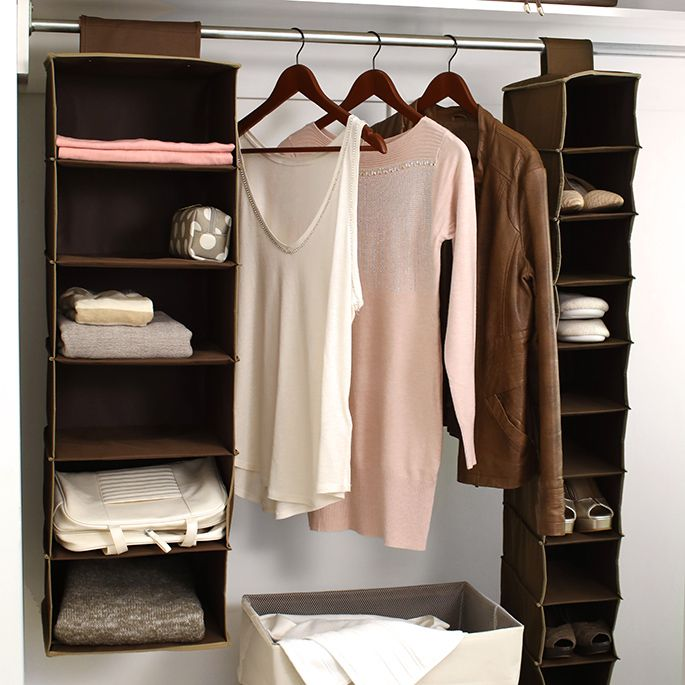 In need of extra storage space in your closet? We got your covered. https://tidyliving.com/hangers.html #TidyLiving #Closet #Storage #Hangers