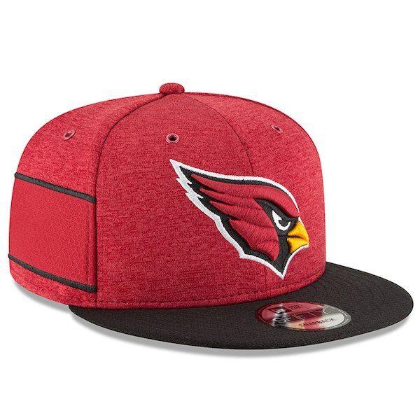 a1f42e26131f8 ... order arizona cardinals new era 2018 nfl sideline home official 9fifty  snapback adjustable hat cardinal black