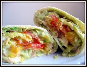 A Whisk and A Prayer: Tuna Melt Wraps with Avocado