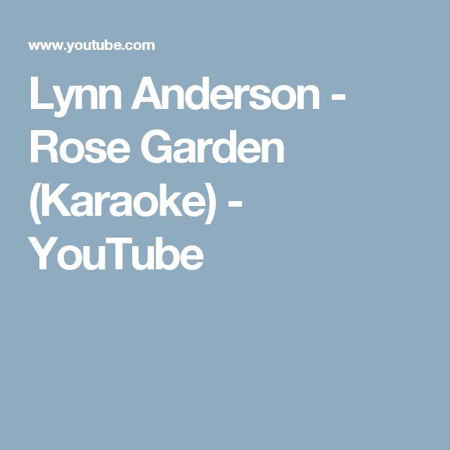 Lynn Anderson - Rose Garden (Karaoke) - YouTube