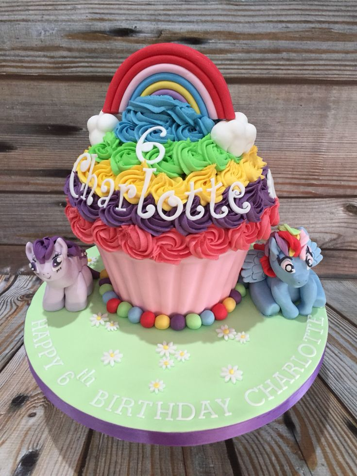 Pictures Of A Giant Cupcake Cake