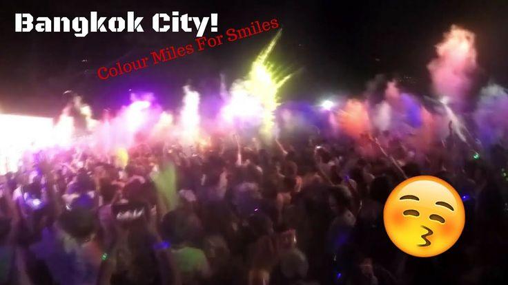 Bangkok City! |Vlog (Colour Miles For Smiles 2016: Neon Edition)