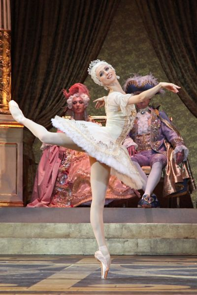 Принцесса Аврора— Светлана Захарова.<br/> Фото Дамира Юсупова.