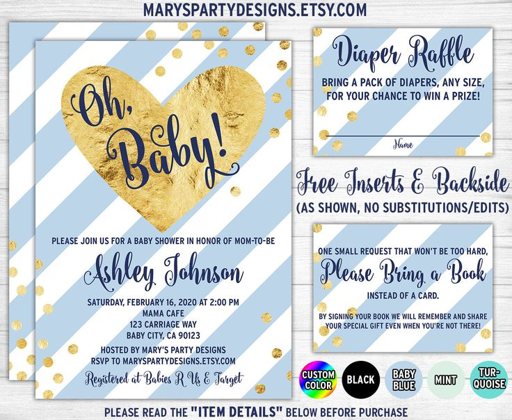 17 best images about baby shower invitations on pinterest, Baby shower invitations