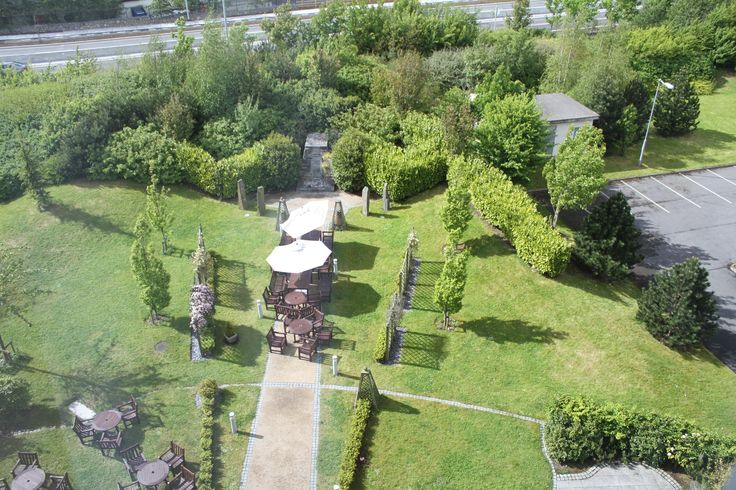 The view of the garden from the bedrooms http://www.carltonhotelblanchardstown.com/