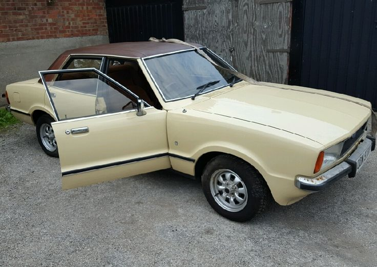 Beige and a vinyl roof, this is simply a fantastic 1979 Cortina!  #ford #cortina