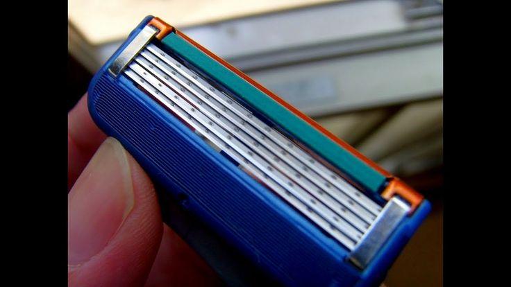 Посылка с Aliexpress лезвия для бритья gillette! Экономия 70%!  Gillette...