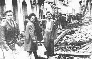 """Fidel durante el estallido conocido como el """"Bogotazo""""(1948)."""