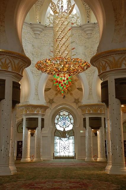 Abu Dabi, swarovski chandelier