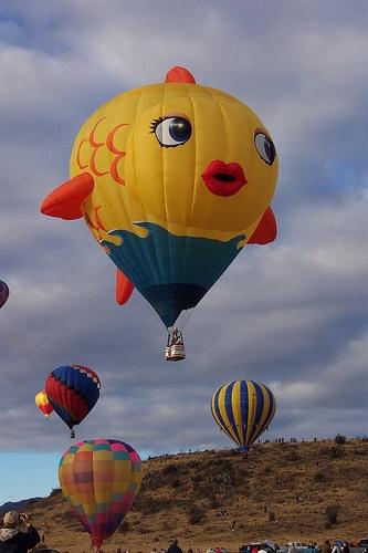 The Fish Hot Air Balloon