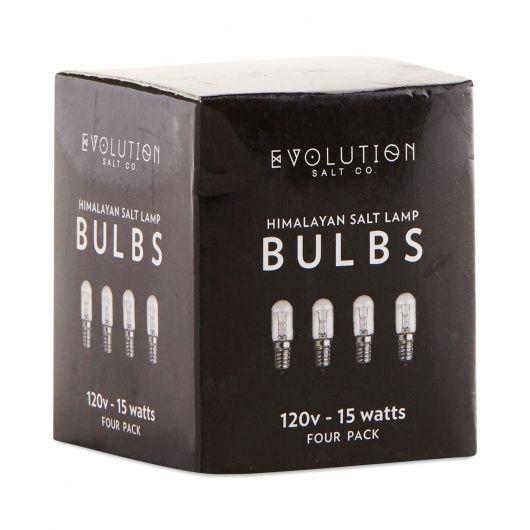 Salt Lamp Bulbs, 15w Clear   $4.29