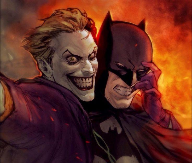 Smile Batman, smile