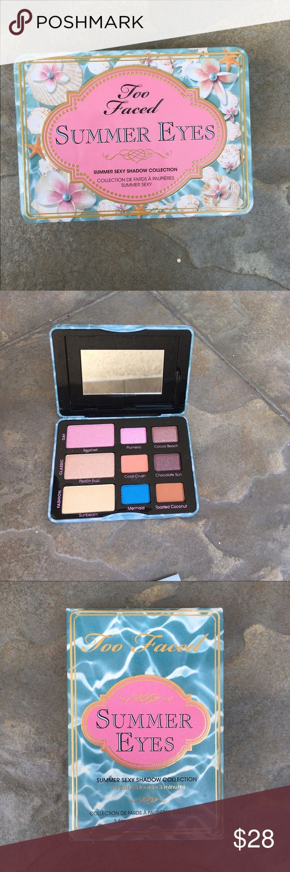 Too Faced Summer eyes palette New in the box Too Faced Makeup Eyeshadow