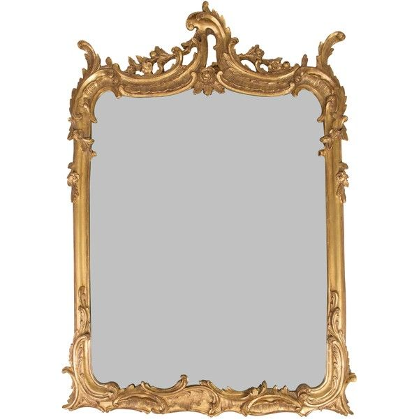Pre-owned Rococo Style Gilt Wall Mirror ($725) ❤ liked on Polyvore featuring home, home decor, mirrors, gold, gilt mirror, rococo style mirror, oversized wall mirrors, oversized mirrors and rococo mirror