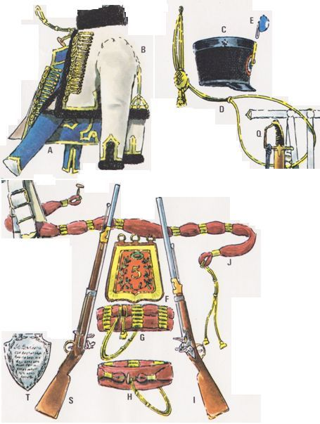 le 5e Régiment de Hussards 1793-1815