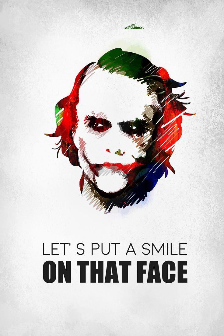 Joker's smile, without the blade.
