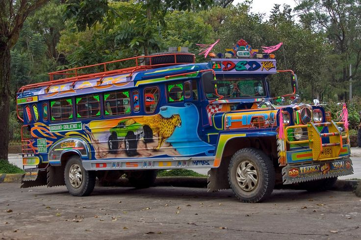 Jeepney, Baguio, Philippines
