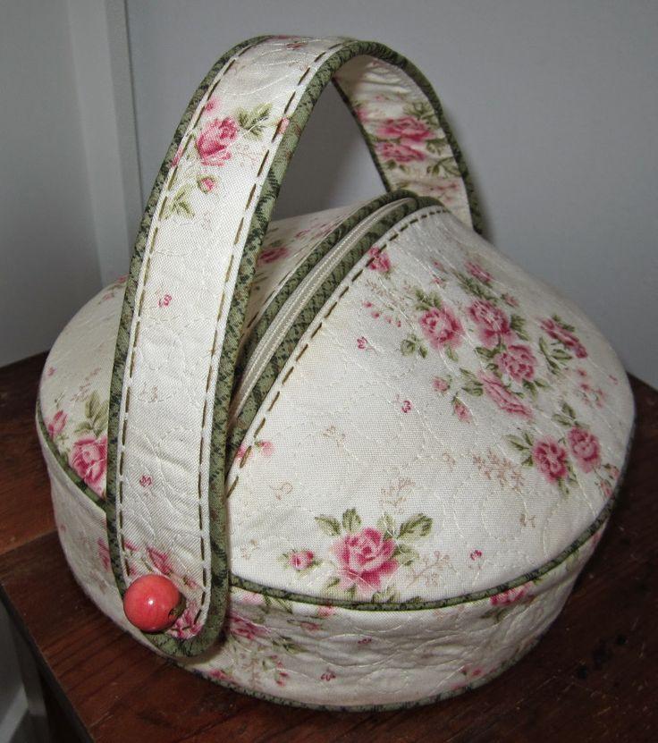 Lappeklipp, rund väska