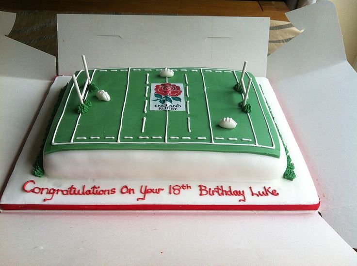 Images Of Rugby Cakes