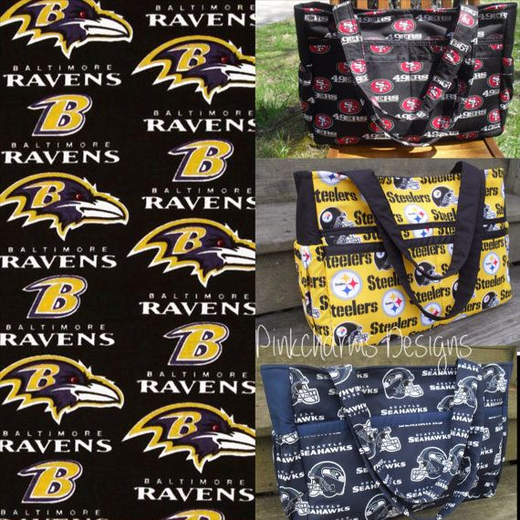 San Diego Chargers Diaper Bag: Custom Made To Order NFL Baltimore Ravens Ultimate Diaper