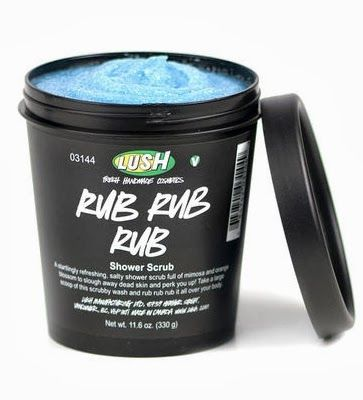 "LUSH Rub Rub Rub! Seriously the best body exfoliant. It has lactic acid in it which makes it perfect for getting rid of ""chicken skin""!"