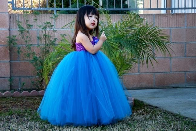 Teal Flower Girl Tutu Dress @Erica Cerulo Belben this is ... - photo #44