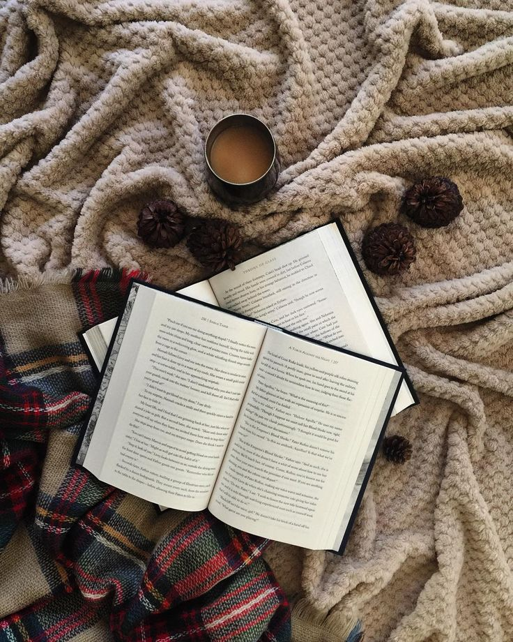 books, coffee or tea, and cozy blankets                                                                                                                                                                                 More