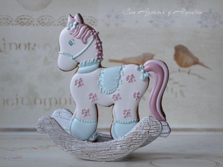 Galletas Decoradas, caballo balancín