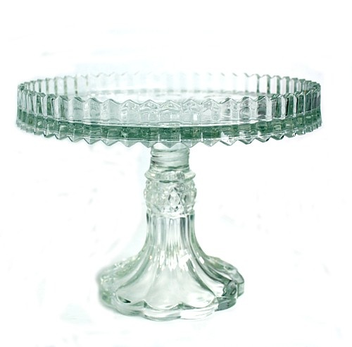 Marquis By Waterford Crystal Bezel Footed Cake Stand