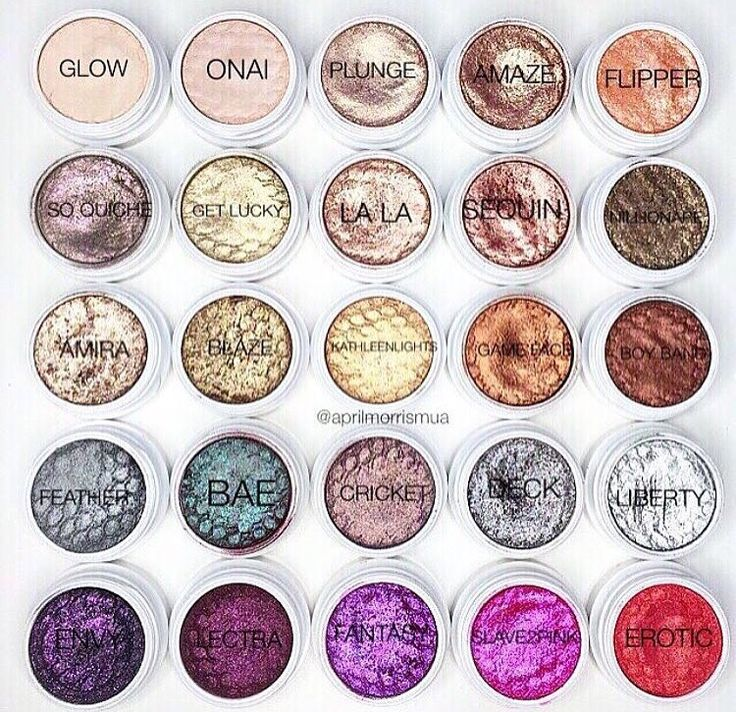ColourPop Cosmetics Eyeshadows