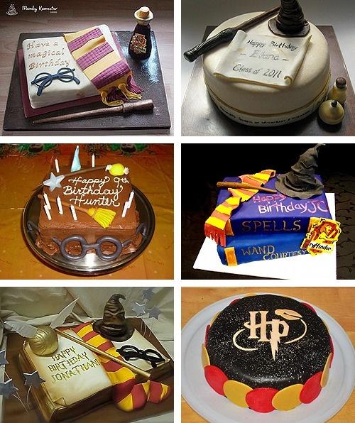 De 9 basta harry potter cake-bilderna pa Pinterest