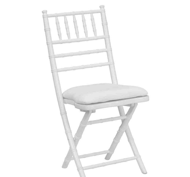 25 best White Folding Chairs images on Pinterest