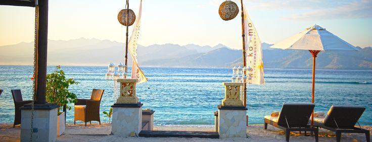 ko-ko-mo Gili Trawangan - Luxury Villa Resort. South east end of island (travel, Indonesia, Lombok, Bali, hotel)